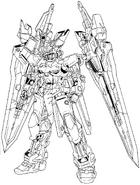 MBF-02VV Gundam Astray Turn Red Lineart