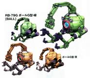 RB-79G Ball Work Type Gundam Crisis