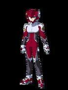 G Gen Cross Rays Custom Character (Male ZAFT Pilot with Helmet)