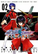 Gundam SEED Destiny The Edge Cover vol 2
