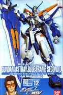 NG - MBF-P03 second L Gundam Astray Blue Frame Second L - Boxart