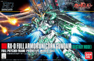 HG Full Armor Unicorn Destroy Mode Boxart