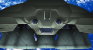 Descent Capsule Carrier Front 01 (Seed Destiny HD Ep38)