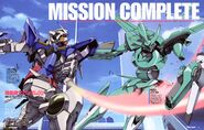 Gundam 00 - Magazine Article - Mission Complete