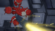 Moebius Zero FIring Linear Cannon (Seed HD Ep2)