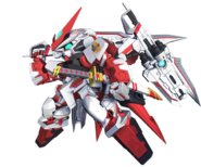 SD Gundam G Generation Cross Rays Gundam Astray Red Dragon