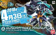 HGBD Gundam AGEII Magnum-First Press