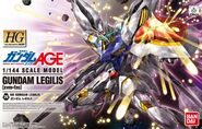 HG Gundam Legilis Box Art