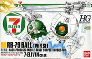 Gunpla HGUC Ball 7-11 box