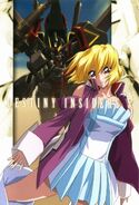 Stella and Gaia Gundam