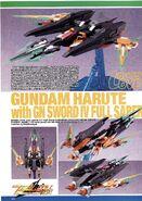 Gundam Harute with GN Sword IV Full Saber 1