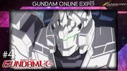 "MOBILE SUIT GUNDAM UNICORN episode 4 ""At the Bottom of the Gravity Well"""