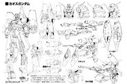 ZGMF-X24S Chaos Gundam Linearts
