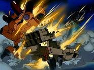 Draken-E destroyed