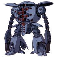 Amx-109-Mobile suit mode (Gundam Unicorn novel)