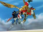 MFGG-EP26-God-Gundam-blocks-the-Lightning-Hammer