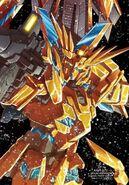 Unicorn Gundam 03 Phenex by Kouzoh Ohmori