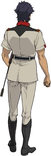 Military Uniform(Rear)