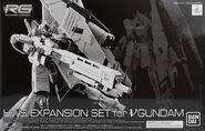 RG HWS Expansion Set for ν Gundam