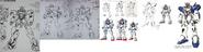Victory Gundam Rough Draft