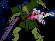 GM Command kills Zaku
