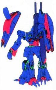 Rear (Mobile Suit Mode)