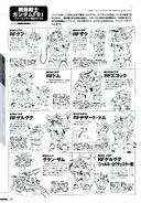 Gundam F91 Formula Report 0122 Linearts