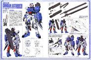 Gundam astaroth HQ lineart