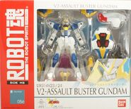 RobotDamashii V2AssaultBusterGundam p01