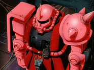 Mobile Suit Gundam Journey to Jaburo PS2 Cutscene 022 Char Zaku 3