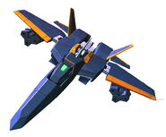 SD Gundam G Generation Crossrays Gundam Abuhool Flight