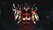 GNW-002 Gundam Throne Zwei Top View