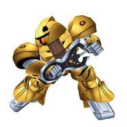 Gold Sumo Super Robot Wars X-Ω