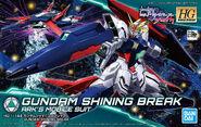 GF13-017NJ-B Gundam Shining Break (Gunpla) (Box Art)