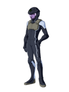 G Gen Cross Rays Custom Character (Male Celestial Being Pilot with Helmet)