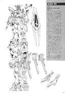 RXF-91 Silhouette Gundam Lineart