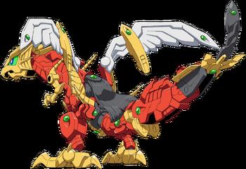 Gundragon Mode (Rear)