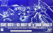 HGAC Assault Booster & High Mobility Unit for Gundam Geminass 01