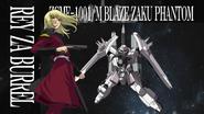 Rey & Blaze ZAKU Phantom in second opening