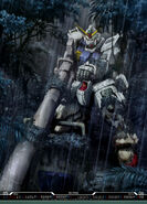 Gundam Ground Type in Rain