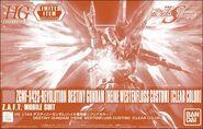 HGCE Destiny Gundam (Heine Westenfluss Custom) -Clear Color-