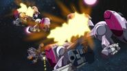 Moebius Vulcan Guns Firing 01 (Seed HD Ep47)