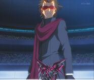 Third Meijin with Gundam Exia Dark Matter