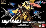 HG Murasame (Andrew Waldfeld Custom) Cover