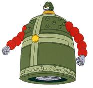 GF13-044NNP Mandala Gundam Defense Mode Front