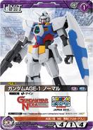 Gundam AGE-1 Normal Gunpla Carddass