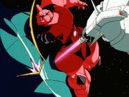 Mobile Suit Gundam Journey to Jaburo PS2 Cutscene 084 Gelgoog vs Gundam