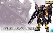 RG Gundam Astray Gold Frame Amatsu -Special Coating-