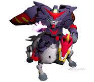 SDGO Fuunsaiki and master Gundam