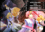 Gundam SEED DESTINY THE EDGE Desire Table of contents Vol. 2
